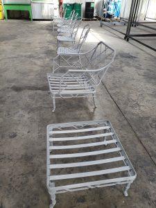 Patio Furniture/ Sandblasting